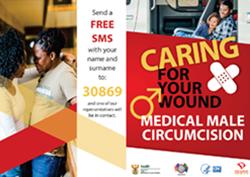 Medical Male Circumcision - Caring for your Wound